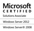 Microsoft Certified - Solutions Associate - Windows Server 2012, Windows Server 2008
